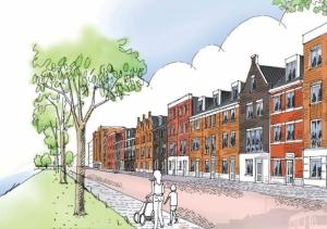 De weg naar kralingen nieuwbouw architectuur rotterdam for De tuin kralingen
