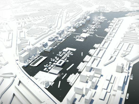 Maashaven drijvend bouwen